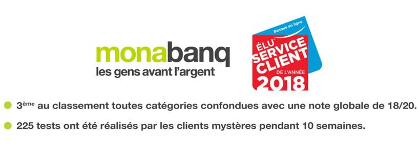 Monabanq service client 2018
